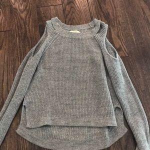 Hollister Cold Shoulder Sweater